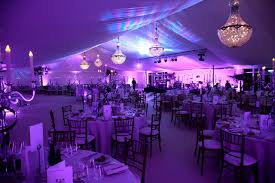 night time marquee chandeliers