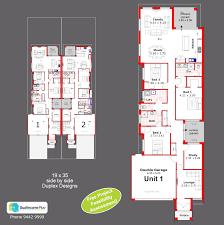 Duplex Designs For Narrow Blocks Duplex Designs