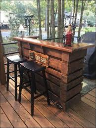 unique diy bar table elegant of outdoor furniture ideas diy