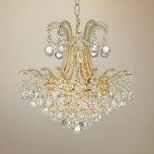 vienna full spectrum nobleton 28 w crystal chandelier with led