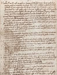 Origin Resumes The History Of The Resume Davron