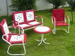 white metal outdoor furniture. Outdoor White Metal Furniture
