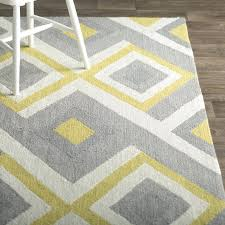 yellow area rug 5x7 side s tractive yellow and gray area rug 5x7