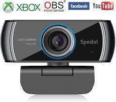 Spedal Full HD 1080P Webcam OBS Live