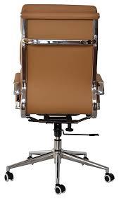 High office desk Diy Camel Vegan Leather Executive Classic Padded High Back Office Desk Chair Office Furniture Camel Vegan Leather Executive Classic Padded High Back Office Desk