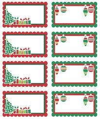 Free Printable Christmas Gift TagsChristmas Gift Tag Design