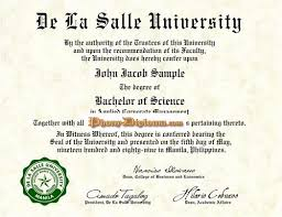 High School Diploma Format Awesome Fake Diploma From Philippines