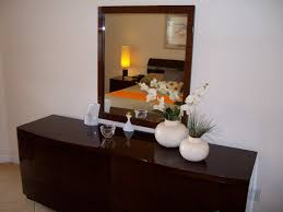 Brown Marble Base And Mirror Ideas Decorate A Dresser Mirror White - Decorating bedroom dresser
