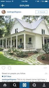 Ummm, I like the porches a lot. And the house. Super cute! Simple Farmhouse  PlansWhite ...
