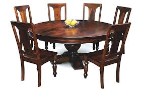 wood dining tables canada room furniture inspiring in solid round table prepare 15