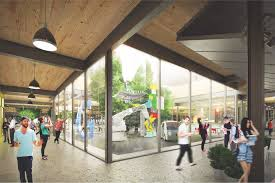 google california office. BIG And Heatherwick Rework Google HQ Design For Smaller Mountain View Site California Office