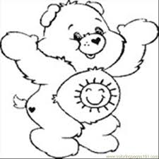 Small Picture Care Bear 12 Coloring Page Free Care Bears Coloring Pages