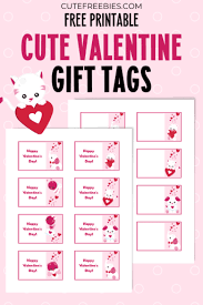 Download valentine's day label collection for free. Free Printable Valentines Day Gift Tags Cute Freebies For You