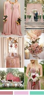 Dusty blue pink gold classic wedding ideas Centerpieces Wedding Dusty Pink Sorbe Wedding Color Ideas And Single Shoulder Bridesmaid Dresses Magnetstreet 25 Hot Wedding Color Combination Ideas 20162017 And Bridesmaid