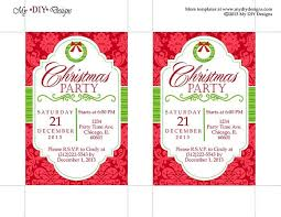 Free Printable Flyer Templates Word Magnificent Chri Ideal Free Christmas Invitation Templates Word Invitation