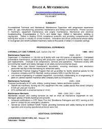 Maintenance Supervisor Resume - http://getresumetemplate.info/3300/ maintenance-