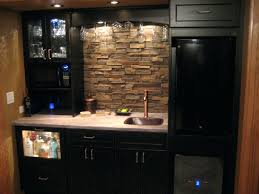 office wet bar. Executive Office Wet Bar Home With Small Stacked Stone Veneer D