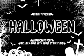 Checkout below best scary halloween fonts. Halloween Font By Njstudio Creative Fabrica
