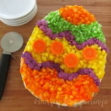 How To Decorate Salad Tray Roll Carrots filled with Egg Salad for Easter Brunch or Lunch 28