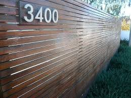 horizontal wood slat fence.  Horizontal Wooden Slatted Fence Black Horizontal  Throughout Horizontal Wood Slat Fence
