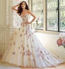 wedding dress purple