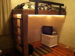 DIY Rustic Loft Bed DIY Rustic Loft Bed – Modern Loft Beds