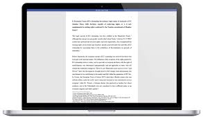 law essay writing service sample of our work on a laptop screen