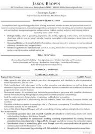 Sales Resume Examples - Resume Professional Writers