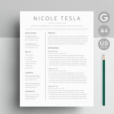 Google Doc Resume Template Modern A Google Docs Resume Template That Is As Easy To Edit As It