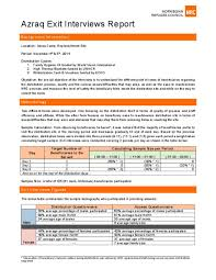 Sample Exit Interview Forms Fresh Exit Interview Document ...