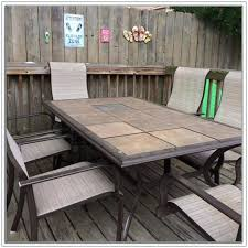 tile outdoor table. Tile Top Outdoor Table Ceramic Patio Tiles Home Decorating Ideas Dining B