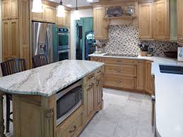 Granite Island Kitchen Kitchen Remodel Vortium Silestone Quartz Countertop With A