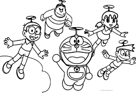 Magician doraemon coloring page,download printable boys pages,doraemon coloring page,doraemon. Doraemon Coloring Pictures Color Fun
