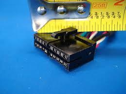 audiovox prestige 20 pin stereo wire harness radio power plug back audiovox prestige 20 pin stereo wire harness radio power plug back clip 8