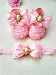 Pink And Gold Baby Shoes Infant Girl Shoes Pink And Gold