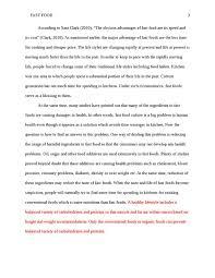 argumentative essay fast food advertising threw his ga argumentative essay fast food advertising