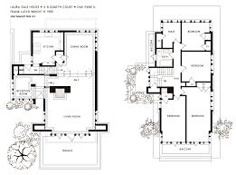 Plan Aline Barnsdall Hollyhock House 1921 East Hollywood Frank Lloyd Wright Home And Studio Floor Plan
