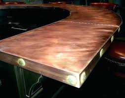 bar top ideas rustic awesome wood slab enchanting cool for tops inexpensive outdoor id