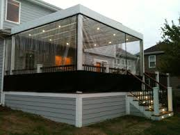 Enclosed deck ideas Sunroom Projects Enclosing Deck For The Winter Decks Ideas Youtube Enclosing Under Deck Home Design Ideas