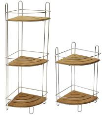 9165 195 gamme 1s home design wall mounted shower caddy free standing corner bamboo 2 shelves
