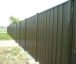 sheet metal fence designs all time manufacturing co inc steel privacy decorating meaning in cost sheet metal fence