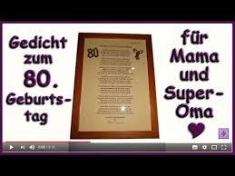 Fg230 Zum 80 Geburtstag Für Frauenomas Gedicht Herzlichen