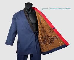 Premium Taekwondo Grandmaster Suits Mooto Geum Gang Navy