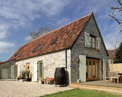 Renovated Barns A Converted Stone Barn In Somerset Uses Conservation Roof Windows