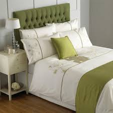 riva home serena flower applique duvet cover set green single intended for incredible residence green duvet