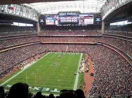 Reliant Stadium Soccer Seating Chart Upper Bowl Picture Of Nrg Stadium Houston Tripadvisor
