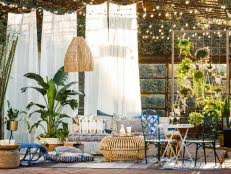 Image Garden 15 Ways To Transform Small Patio Into Relaxing Retreat 15 Photos Elle Decor 18 Ways To Add Privacy To Deck Or Patio Hgtv