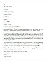 online complaint letter template and samples vlcpeque  online complaint letter template and samples impressive complaint letters of unprofessional behavior template