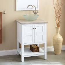 Small Bathroom Storage Cabinets White Marble Features Alcove