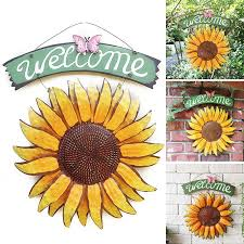 outdoor sunflower hangings decor garden